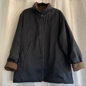 Mycra Pac Reversible Black/Bronze Jacket M/L